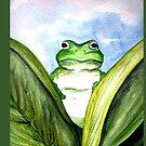 Peeping Frog  by Linda Callaghan
