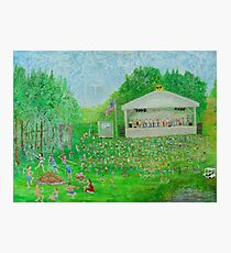 Rob Gamble's Sterling Stage Painting #1 Photographic Print