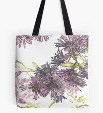 Fall asters Tote Bag