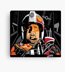 Porkins Canvas Print