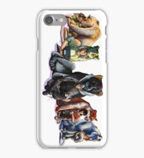 Voltron the Complete Team iPhone Case/Skin