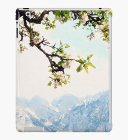Apple Blossoms and Mountains  iPad Case/Skin
