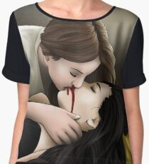 Hollstein Vampire Captured Women's Chiffon Top