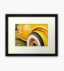 Roadster Reflections Framed Print