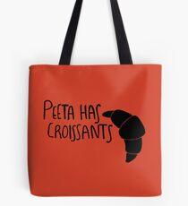 The Baker Has Croissants (Black Design) Tote Bag