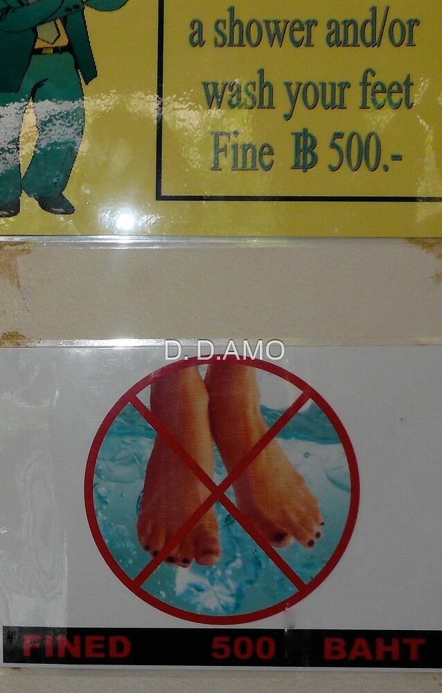 FEETFINED... or Fine Feet! by D. D.AMO