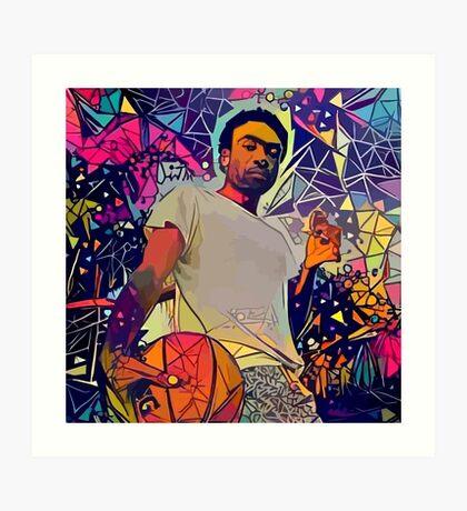 Abstract Gambino Art Print