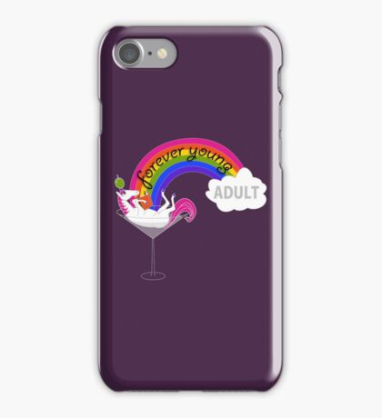 Forever Young Adult Official Logo iPhone Case/Skin