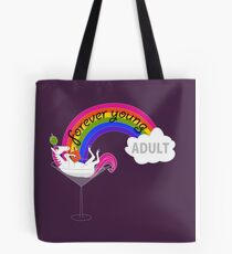 Forever Young Adult Official Logo Tote Bag