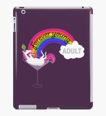 Forever Young Adult Official Logo iPad Case/Skin