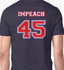 Impeach 45 Patriot Colors Unisex T-Shirt