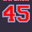 Impeach 45 Patriot Colors by Thelittlelord
