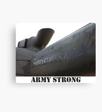 Army Helicopter  Canvas Print