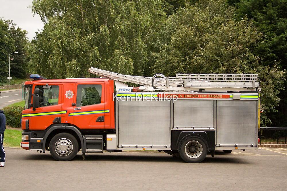 fire engine by Ken McKillop