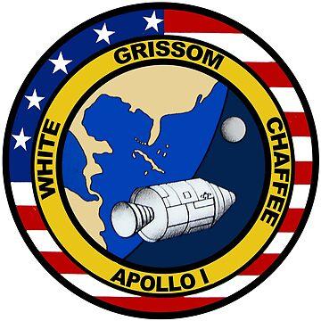 Apollo 1 Mission Logo by Quatrosales
