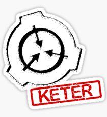 SCP KETER: Stamp Design Sticker