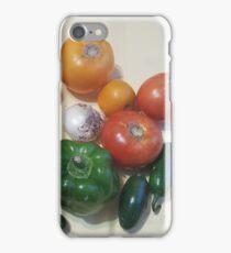 Salsa Vegetables iPhone Case/Skin