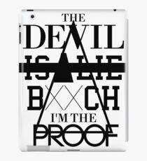 The Devil Is A Lie B**ch I'm The Proof - jay-z And Rick Ross Bars iPad Case/Skin