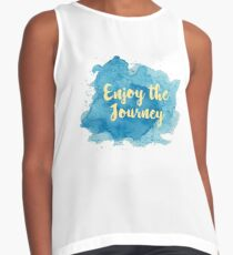 Enjoy the Journey Contrast Tank