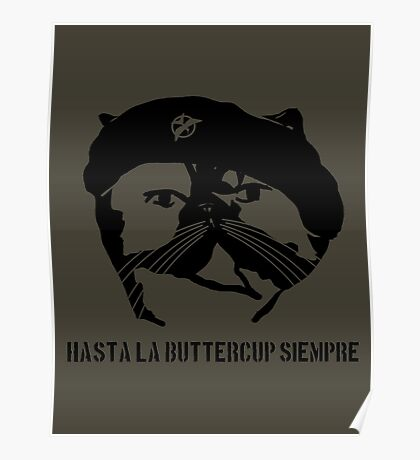 Hasta La Buttercup Siempre Poster