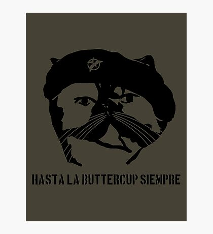 Hasta La Buttercup Siempre Photographic Print