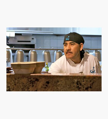 7 Seas Chef Photographic Print
