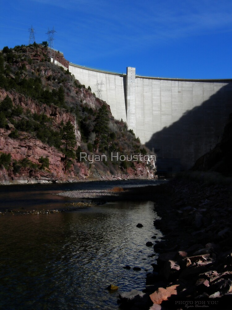 Flaming Gorge Dam by Ryan Houston