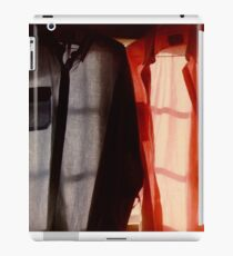 Two Shirts in a Window, Study Number 1 iPad Case/Skin