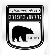 Great Smoky Mountains National Park - Tennessee Poster