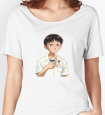 Shinji with Shinji Mug Women's Relaxed Fit T-Shirt