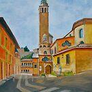 Duomo di Asolo, Veneto, Italy by Dai Wynn