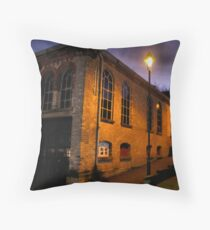 The Old Powerhouse Throw Pillow