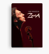 ZARIA - new album release memorabilia Canvas Print