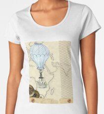 Steampunk Africa Women's Premium T-Shirt