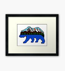 The Happy Camper Framed Print