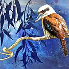 Kookaburra, hunting by Karyn Fendley