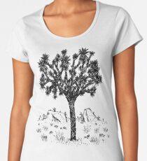 Joshua Tree (Tag) Premium Rundhals-Shirt