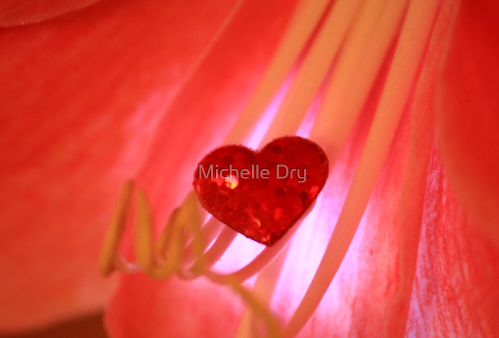 Love flowers by Michelle Dry