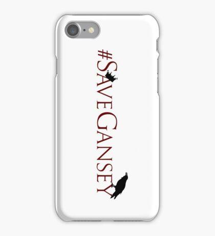#SaveGansey iPhone Case/Skin