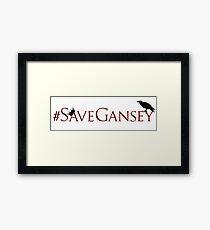 #SaveGansey Framed Print