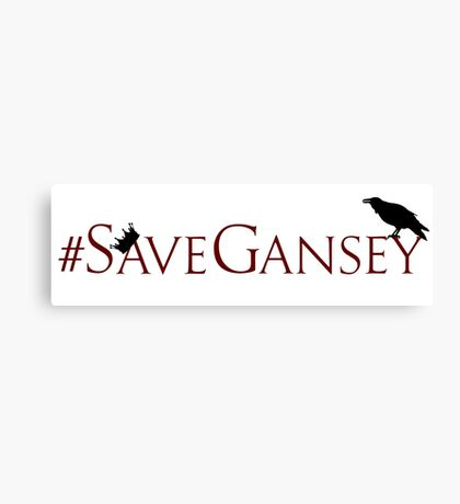 #SaveGansey Canvas Print
