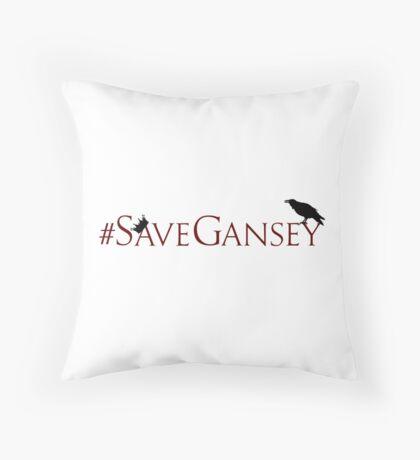 #SaveGansey Throw Pillow