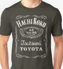 Toyota Corolla / Levin / Trueno AE86 Hachi Roku Drink and Drive T-Shirt