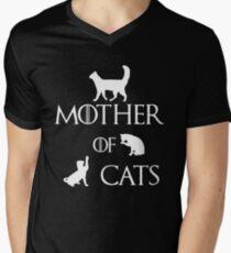 MOTHER OF CATS Men's V-Neck T-Shirt