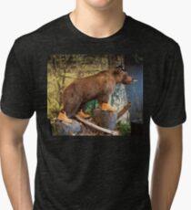Ursine Mammal Tri-blend T-Shirt