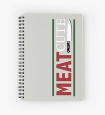 Meat Cute Spiral Notebook