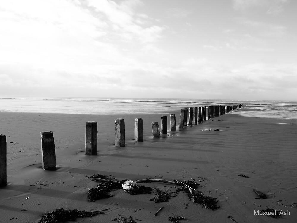 Brean Beach 3 by Maxwell Ash