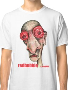 Insomniac w. redbubble logo Classic T-Shirt