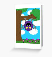 Fearsome Fred Greeting Card