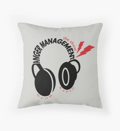 Anger Management: The Show Throw Pillow